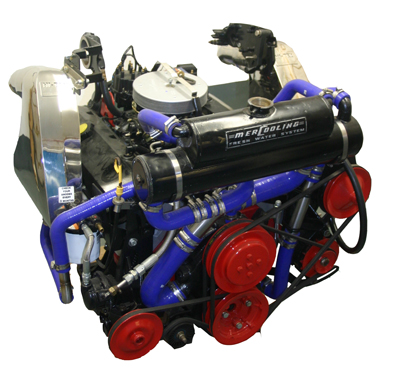 8.8L 495bhp V8 Performance Marine engine rebuilds